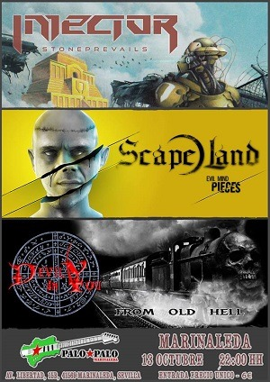 INJECTOR + SCAPE LAND + DEVIL IN YOU