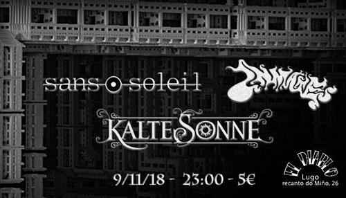 KALTE SONNE + INMATES + SANS SOLEIL