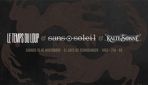 LE TEMPS DU LOUP + SANS SOLEIL + KALTE SONNE