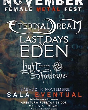 LAST DAYS OF EDEN + ETERNAL DREAM +LIGHT AMONG SHADOWS