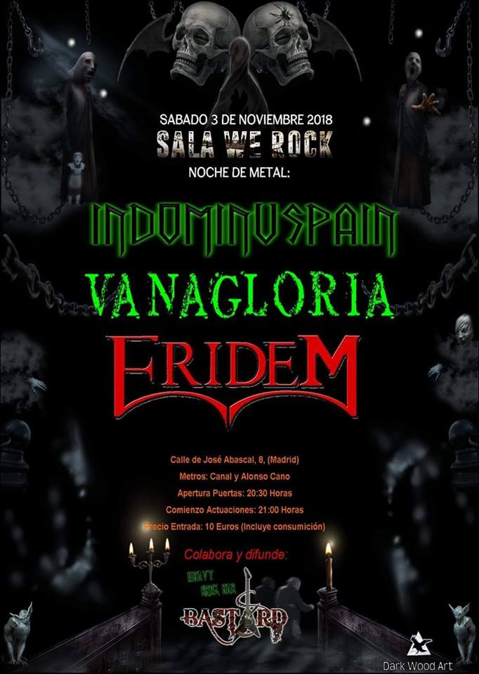 INDOMINUSPAIN + VANAGLORIA + ERIDEM