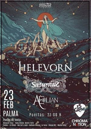 HELEVORN + SATURNUS + AEOLIAN