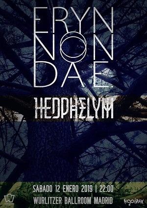 ERYN NON DAE + HEDPHELYM