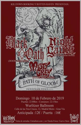 BLACK OATH + NIGHT GAUNT + MISTY GREY