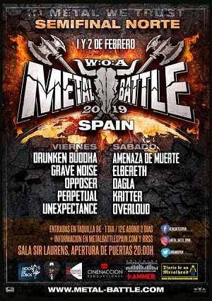 SEMIFINAL NORTE - W:O:A METAL BATTLE SPAIN 2019