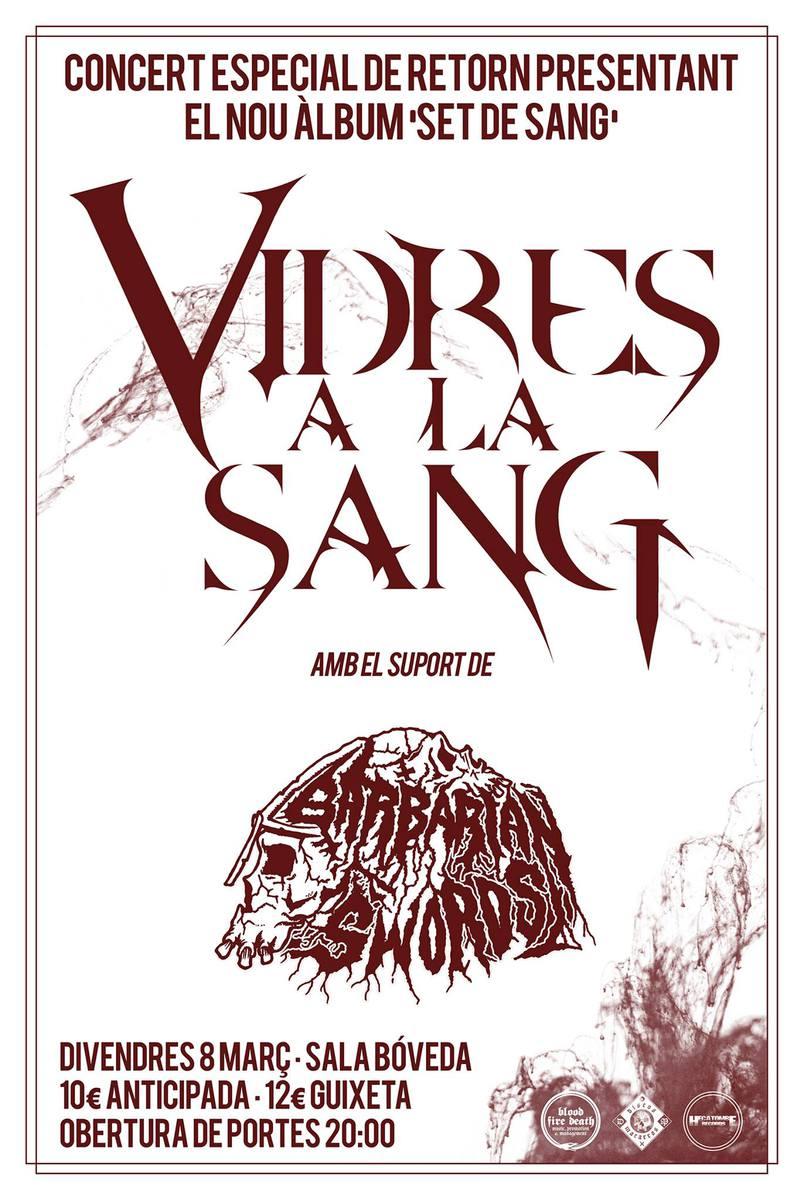 VIDRES A LA SANG + BARBARIAN SWORDS