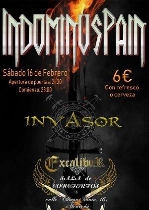 INVASOR  + INDOMINUS PAIN