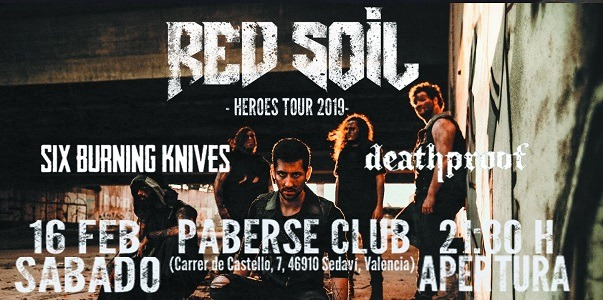 RED SOIL + SIX BURNING KNIVES + DEATHPROOF