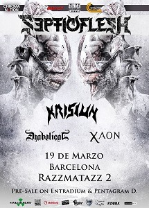 SEPTIC FLESH +  KRISIUN + DIABOLICAL + XAON