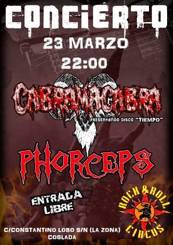 CABRAMACABRA + PHORCEPS