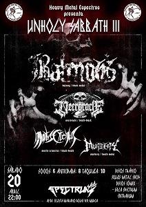 BALMOG + NECRORACLE + MORTIS CRUENTUS + MURDEY
