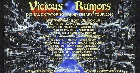 VICIOUS RUMORS + AIR RAID + MAGISTARIUM