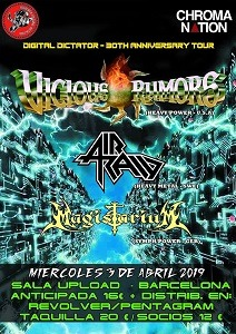 VICIOUS RUMORS +AIR RAID + MAGISTARIUM