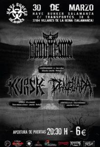 Akouphenom+Dentellada+Kursk_Nave Bunker Salamanca_30.03.19_01