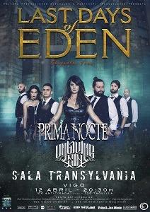 LAST DAYS OF EDEN + PRIMA NOCTE + UNLIVING SIN