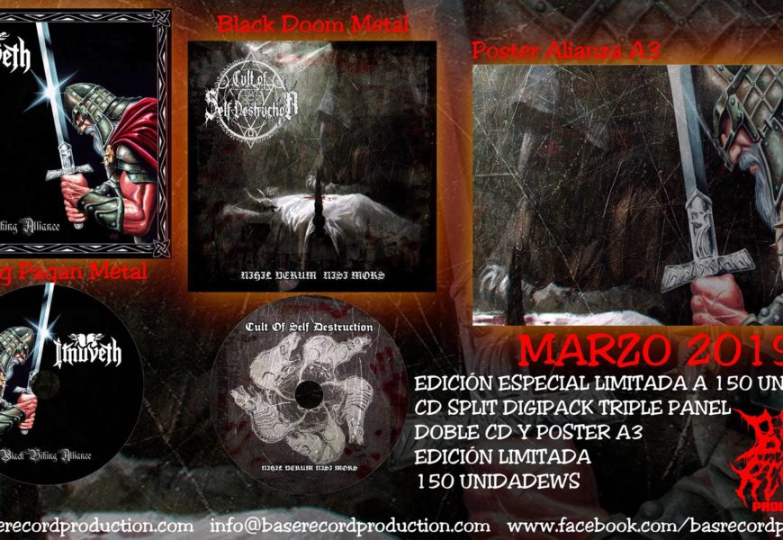 ITNUVETH (ESP) / CULT OF SELF DESTRUCTION (ESP) – Split CD, 2019