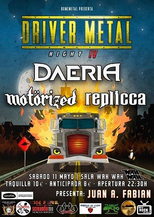 DRIVER METAL NIGHT IV