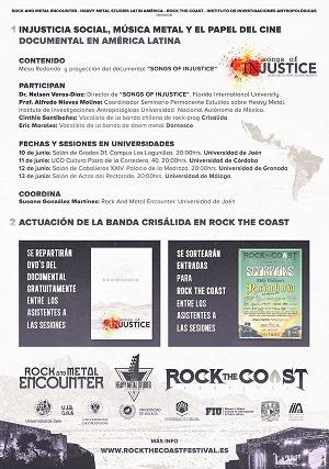 METAL ENCOUNTER: Injusticia social, música metal y el papel del cine documental en América Latina
