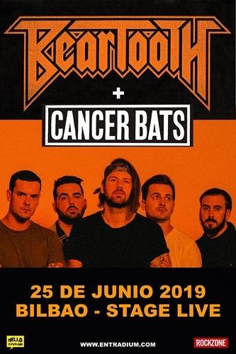 BEARTOOTH (USA) +CANCER BATS (CAN)