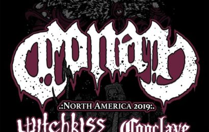 CONAN (GBR) + WITCHKISS (USA) + CONCLAVE (USA) – Boston – 26/06/19 🇬🇧
