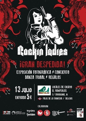 DESPEDIDA PROYECTO ROCKIN' LADIES MADRID