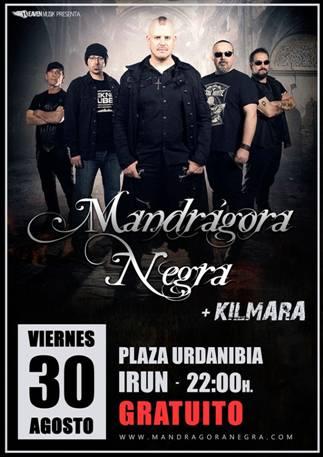 MANDRÁGORA NEGRA + KILMARA
