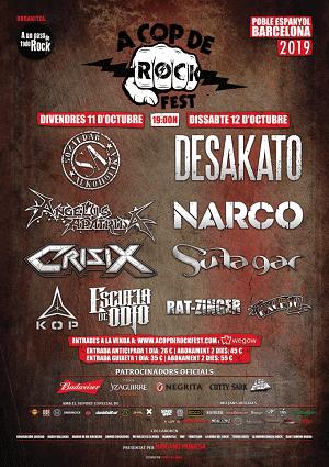 A COP DE ROCK FEST II (CANCELADO)