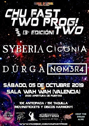 CHU FAST TWO PROG! TWO