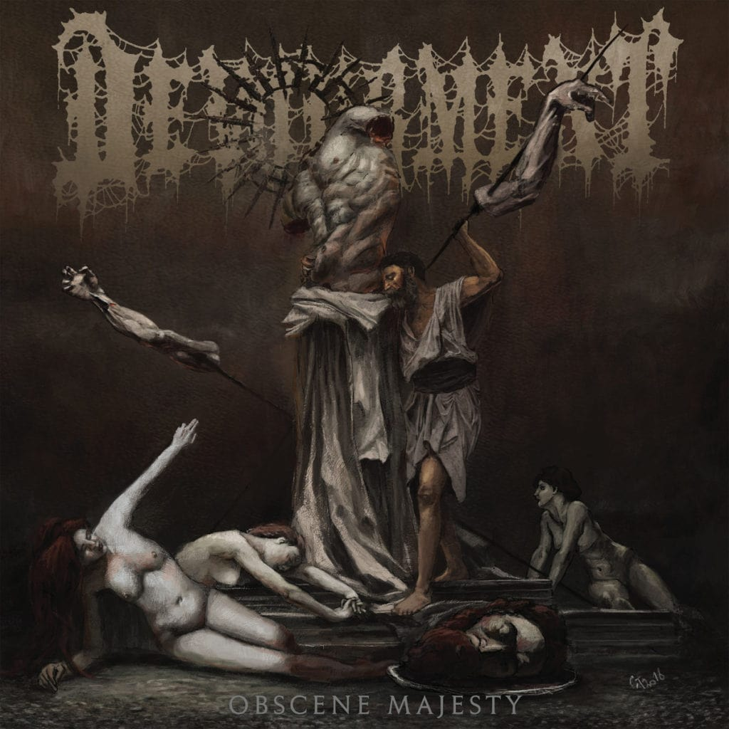 DEVOURMENT (USA) – Obscene majesty, 2019