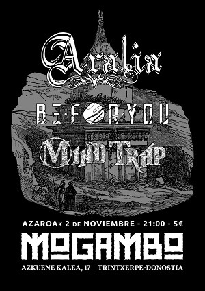 ARALIA + BE FOR YOU + MIND TRAP