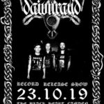 DAWN RAY´D (GBR) + BURNING VOW (GBR) + WOUND (GBR) – Londres – 23/10/19