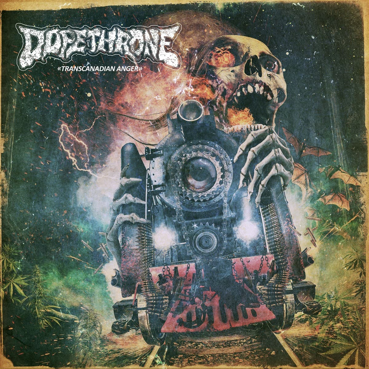 DOPETHRONE (CAN) – Transcanadian anger, 2018