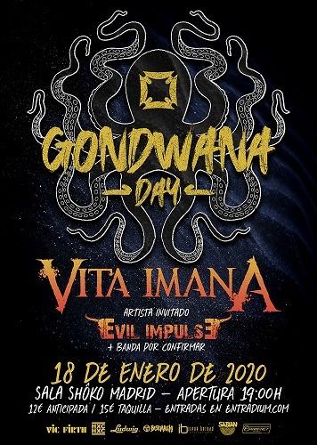 GONDWANA DAY + VITA IMANA + EVIL IMPULSE