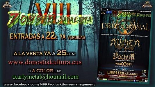 VIII ZOMBIE Jaialdia Fest (sábado)