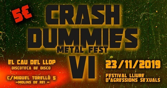CRASH DUMMIES Metal Fest VI