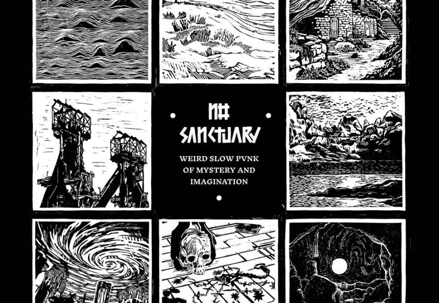 NO SANCTUARY (ESP) – Weird slow punk of mystery & imagination, 2019