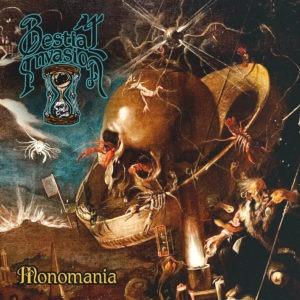 Portada del álbum Monomania de Bestial Invasion.