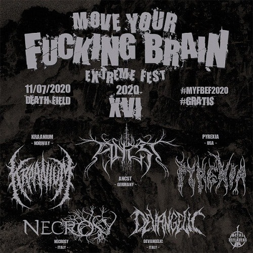 MOVE YOUR FUCKING BRAIN EXTREME FEST 2020
