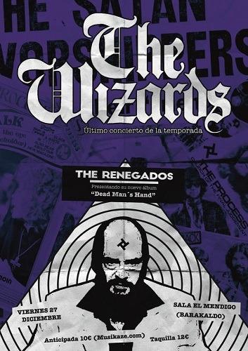 THE WIZARDS (ESP) + THE RENEGADOS (ESP)