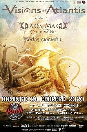 VISIONS OF ATLANTIS +  CHAOS MAGIC +  MORLAS MEMORIA