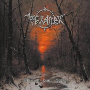 "Portada del álbum ""Where My Demise Dwells"" de Bewailer."