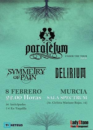 PARALELUM + SYMMETRY OF PAIN + DELIRIUM