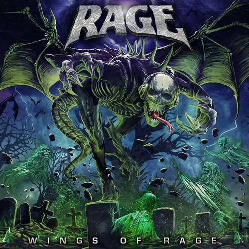 RAGE (DEU) – Wings of rage, 2020