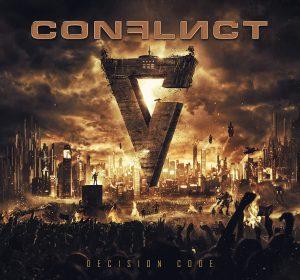 Portada del album Decision Code de Conflict