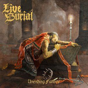 Portada del album Unending Futility de Live Burial