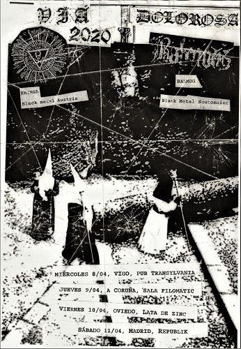 Vía dolorosa tour: KRINGA + BALMOG + AKOUPHENON