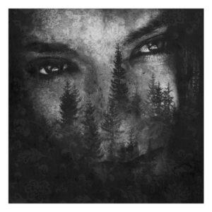 """Portada del álbum """"The Ashes of Light"""" de Lustre."""
