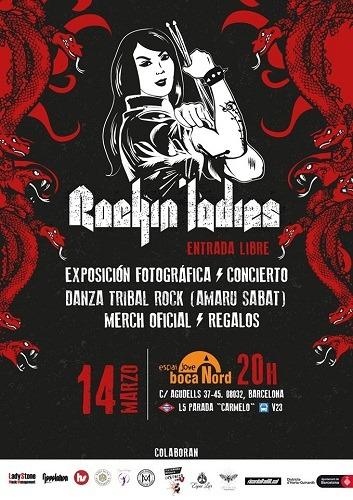 Presentación Oficial Proyecto ROCKIN' LADIES Barcelona