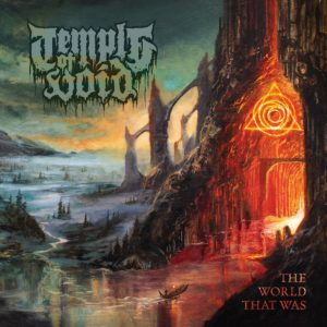 "Portada del álbum ""The World That Was"" de Temple of Void."