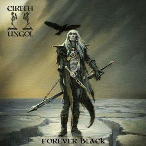 Portada de Forever Black de Cirith Ungol.